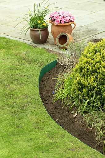 50m  Green Smartedge lawn edging
