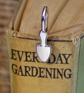 Gardener's Trowel Bookmark. Stainless steel bookmark with trowel shape