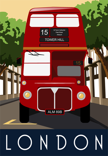 London - The Double-decker Red Bus